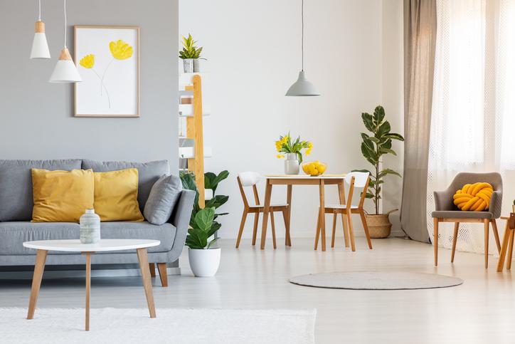 como mobiliar um apartamento gastando pouco