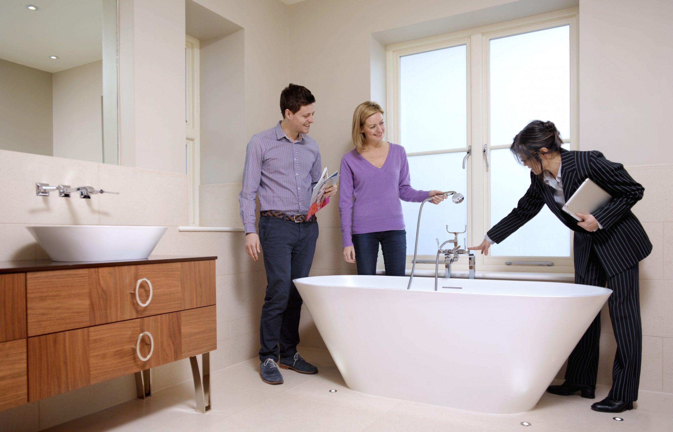 Clientes interessados em comprar imóveis